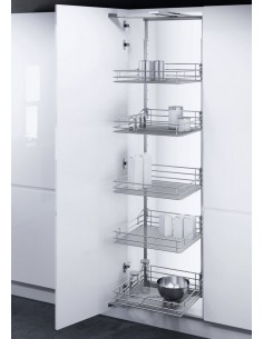 450mm Swing Out Mesh Baskets Larder