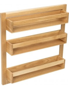 Oak Tall Storage Rack For Pantry & Larder Doors