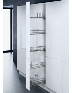 Tall 150mm Narrow Pull Out Larder Vauth Sagel