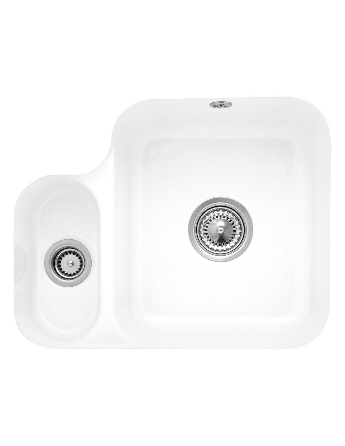 6702 Villeroy & Boch Cisterna Kitchen Sinks 1.0 & 1.5 Ceramic white ...
