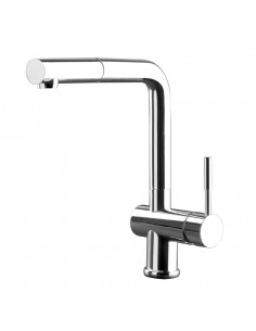 Gessi Oxygen 50203 Monobloc Mixer Tap Pull Out Spray Rinse