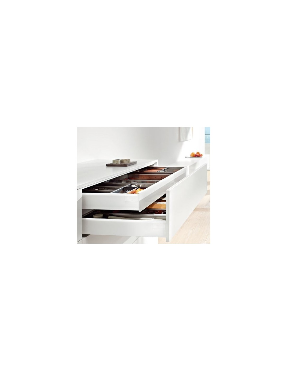 Easy order blum antaro internal drawer shallow depth 300 for Kitchen cabinets 500mm depth