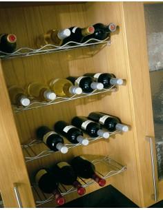 Kessebohmer Wine Rack 500/1000mm Horizontal Chrome