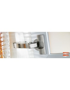 Blum 120 Degree Clip Top Hinge, Screw on Overlay 71T5550