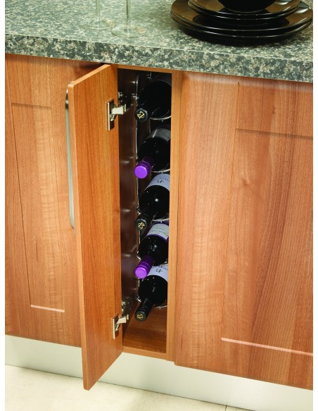 WWFWR150 150mm Unit Fixed Wine Rack Five Bottle Capacity