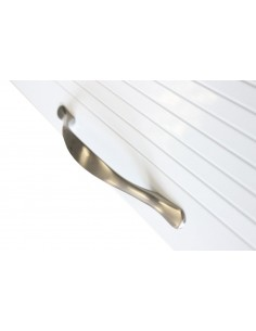 1450 x 500mm White Gloss Tambour Door Kit Shutter