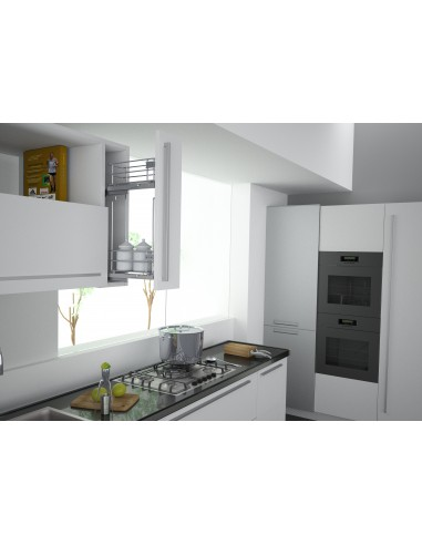 Narrow cabinet wall storage 150mm widths sige italian for Narrow kitchen units
