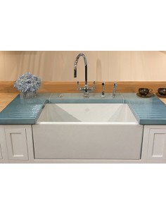 Shaws Classic Double Apron Front Kitchen Sink 800mm SCSH108