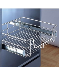 Pull Out Kitchen Storage Basket 300 To 1000mm