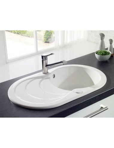 Leighton Ceramic Compact 1.0 Sink