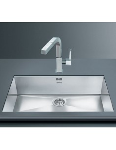 Smeg Quadra 740 x 418mm Rectangular Undermount Sink