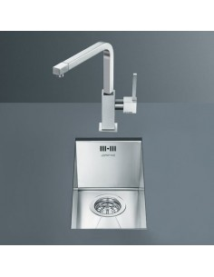 Smeg Quadra Small Bowl Undermount Sink
