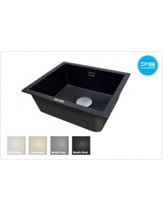 1810 Cavauno Quartz Kitchen Sink 1.0 Bowl Undermount