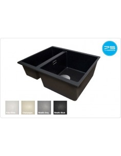 1810 Cavauno Quartz 1.5 Bowl Sink Undermount