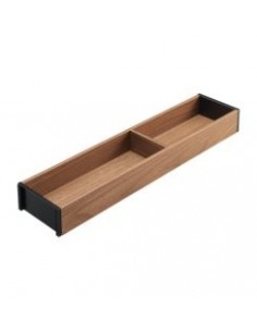 Ambia-Line Utensil Insert 100/200mm Tennessee Walnut 500mm Depth