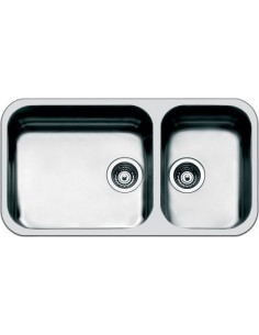 Smeg UM4530 Large Double Undermount Sink