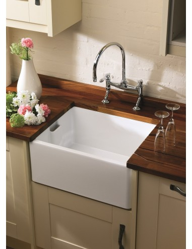 Shaws Of Darwen Baby Belfast Kitchen Apron Front Sink 460mm Widths White Ceramic Classic From 239