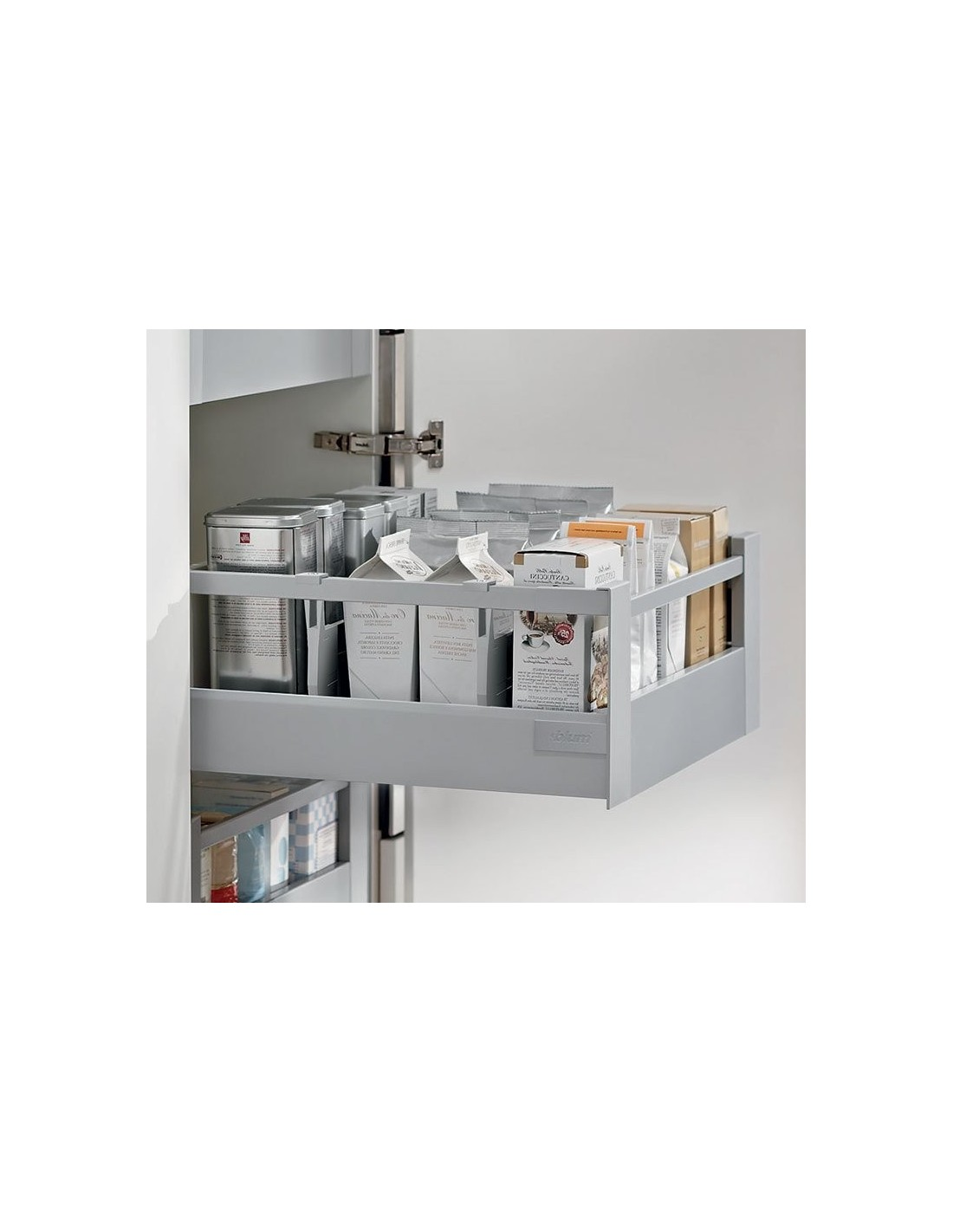 Blum internal cabinet drawer set cutlery drawer x2 pan for Kitchen cabinets 450mm depth