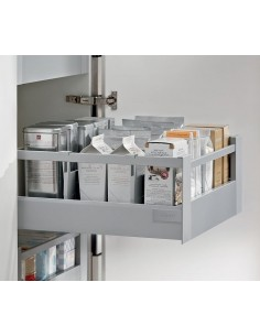 "Blum Antaro ""D""Complete Internal Drawer Set 450mm Depth Gallery Rail Rectangular"