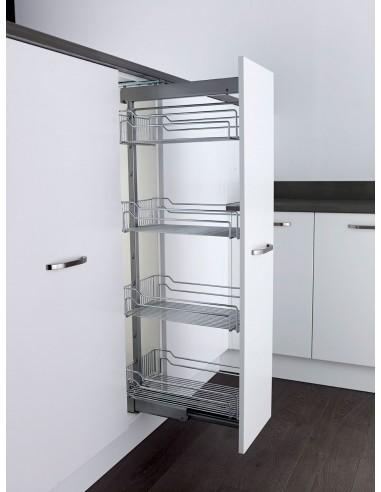 Klf300fesc Kessebohmer Tall Pull Out Larder Basket Storage For Kitchen Units Wire Baskets