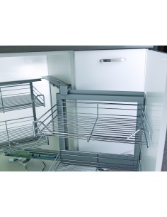 Kessebohmer Magic Corner Pull Out Storage Shelving 900/1000mm
