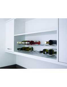 Kessebohmer Wine Rack 500/1000mm Horizontal Chrome