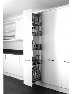 400mm Kessebohmer Classic Pull Out Larder - Suits 500mm In Frame