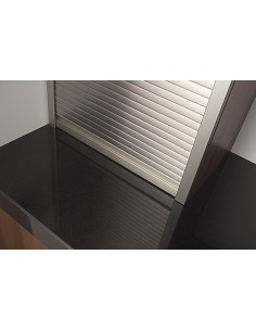Metallic Tambour Doors Stainless Steel 1210mm x 600mm