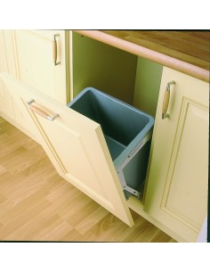 Tilting Kitchen Waste Bin Minimum 500mm 30 Litres Door Fix