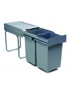Romagna Kitchen Waste Bin 300mm 28L Pull Out
