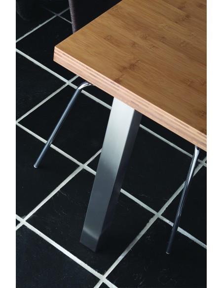 870mm Square Breakfast Bar Leg Support 60mm