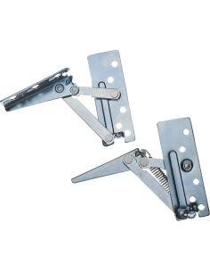 Kitchen Cabinet Lift Up Flap Hinges Sprung For Top Boxes