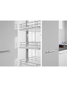 Sestino 300mm Tall Pull Out Larder Studio Height