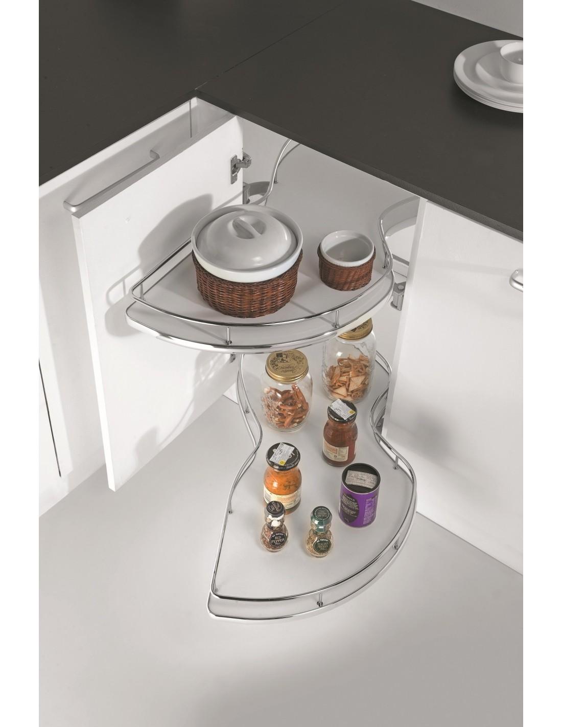 Carousels shelves 800mm east coast kitchens for Kitchen corner base units 800mm