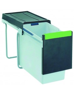 Single Container Kitchen Waste Bin 300mm 30L Pull Out Unit