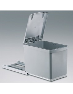 Base Mounted Waste Bin Automatic Lid Opener For Hinged Doors