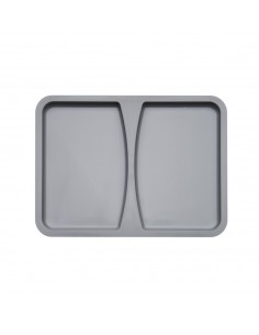 Wesco Kitchen Waste Bin Lid For Containers 26 OR 32 Litres Grey