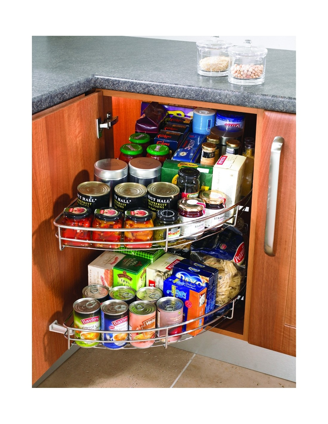 Kitchen storage accessories east coast kitchens Pantry 800mm