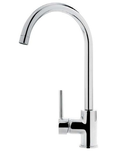 Clearwater Siren Kitchen Tap Chrome Side Single Lever