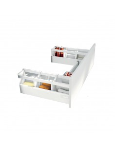 Blum Antaro Under Sink Drawer Grey 500mm Depth Softclose