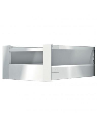 Antaro internal d height pan drawer with gallery rail for Kitchen cabinets 500mm depth