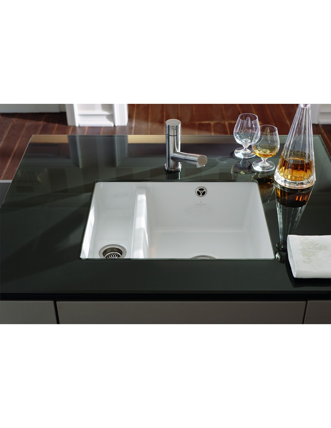 Villeroy & Boch Subway 60XU kitchen sink, Undermount 1.5 Bowl ...