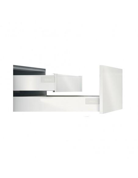 "Blum Antaro Internal Drawer Fascia ""M"" Height Silk White"