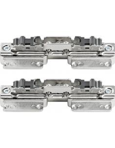 Blum Aventos Front Fixing Brackets, Narrow Aluminium Frames