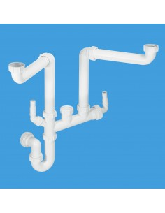 Clearwater WPK15 Plumbing Kit For 1.5 Bowl Sinks