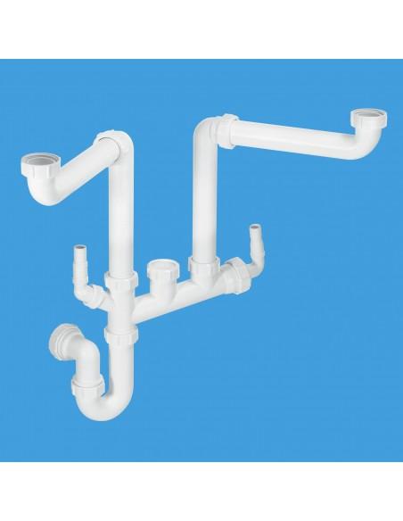 Clearwater WPK15 Plumbing Kit For 1.5 Bowl Sinks