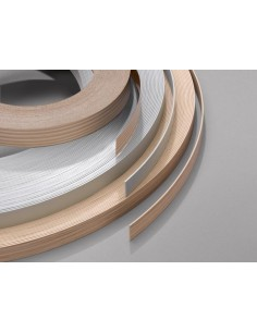 Light Walnut H3703 Edging Tape 10M x 22mm Glued Iron-On