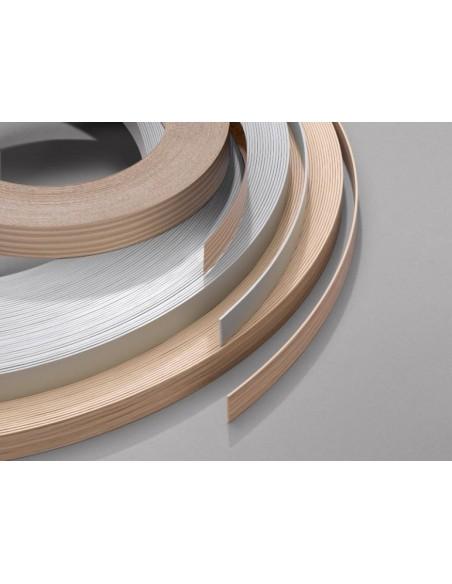 Gloss Edging Tape Pre-Glued 22mm x 5m White, Cream, Black, Burgundy