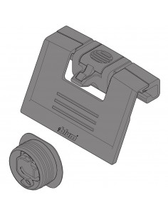 Blum Antaro Clip On + Latch Handle For Internal Fascia