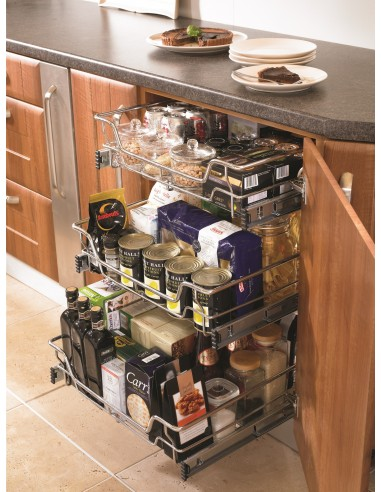 Pull out storage drawers for kitchens bedrooms suits 300 for Individual kitchen units